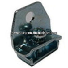 TS-0021 Soporte de abrazadera de extremo de riel de acero DIN