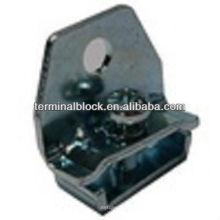 TS-0021 Suporte de braçadeira de extremidade de trilho DIN DIN