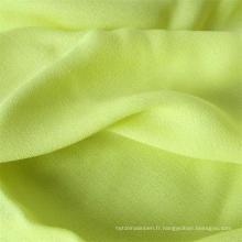 Tissu de chemise de dame de fibre synthétique 100% tissu de crêpe de viscose