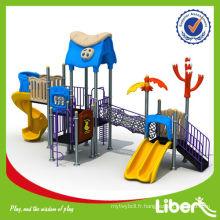 Diapositives extérieures en plastique à usage scolaire pour jeux d'enfants
