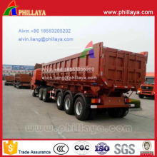 32 Ton U-Shaped Dumper Tipper Semi Trailer