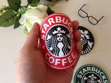 Coasters de PVC café Starbucks promocional
