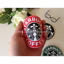 Promotional Starbucks PVC Coffee Coasters