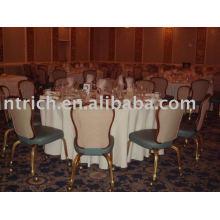 Mantel, cubierta de tabla del banquete, cubierta de tabla del poliester 100%, lino de tabla