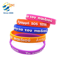 Nice quality unisex bracelet couple wristband Fashion