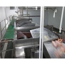 Resfriador de parafuso para equipamentos de processamento de aves