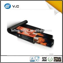 Free Sample Best BBQ Grill Mat in Grill Accessories heat resistant non-stick fire retardant teflon BBQ Grill Mat
