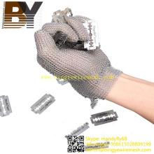 Gants de protection en acier inoxydable