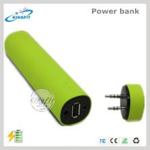 Altavoz Bluetooth de moda del banco de la potencia mini
