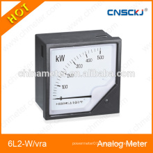 Mounted panel meters 6L2-W/var 80*80mm analog power panel meters
