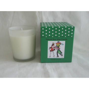 Cucumber & Lime Natural Soy Wax Candle