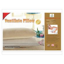Подушка из полиэфирной ткани с подушкой для вентиляции 100