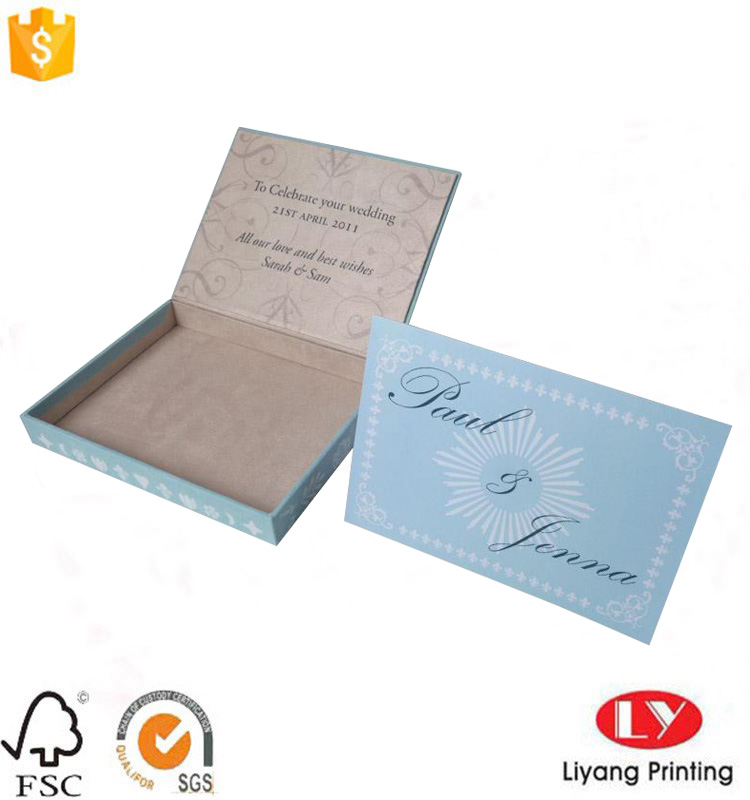 card packaging box