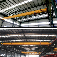 Customized for Single Girder 10 Ton Overhead Crane 5TON LD Single Girder Electric Hoist Crane supply to North Korea Supplier