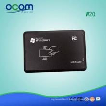 Lecteur de RFID de système de contrôle d'accès pour la porte - W20