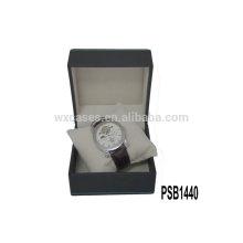 caixa de relógio de couro de alta qualidade para único relógio atacado fabricante