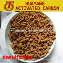 goff mercaptan carbono marrón amarillo desulfuración carbón activado