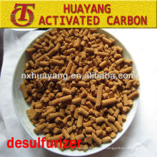 goff mercaptan carbon brown yellow desulfuration activated carbon