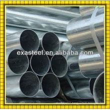 HR welded galvanized steel tube