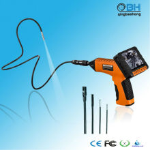 "9MM PROBE VIDEO INSPECTION 1M CÂMERA BORESCOPE 3,5 ""LCD Endoscope 4 luzes LED"