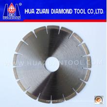 Disco de coupe de diamant à lame de marbre 250 mm de type ventilateur populaire à Quanzhou