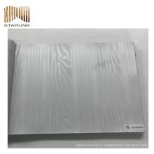 revêtement de mur tissé par vinyle de porcelaine de prix juste avec de nouveaux designs
