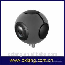 Nuevo estilo Pano Live View WiFi 360 Degree Vr Camera Android Mobile Control Dual Panoramic Vr Camera con el mejor precio