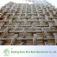 Tela de malla neta lisa para la decoración / malla decorativa