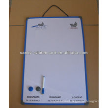 pvc notic board soft frame whiteboard XD-CH082-2