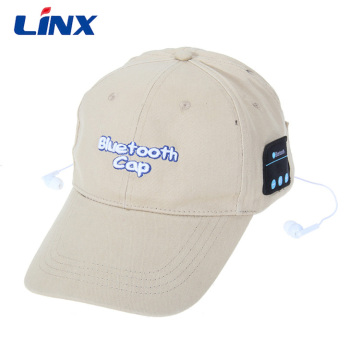 Sports Baseball Hat with Earphone Bluetooth Wireless
