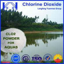 Nouvelle génération de poudre de chlore et de dioxyde utilisé dans l'aquaculture