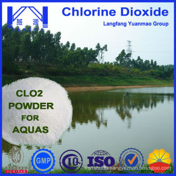 New Generation Powder Chlorine Dioxide Used in Aquaculture