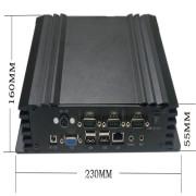 Intel Desktop Board Industrial Fanless PC with Industrial Computer Case