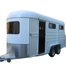 Дешевые стандартный трейлер лошади, Верховая поплавок для продажи