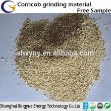 For polishing/abrasive/oil remove corn cob grits