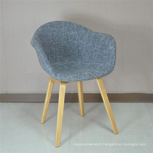 Modern Upholstery Wood Replica Hay About a Chair (SP-HC557)