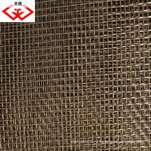 Нержавеющая сталь 316L гофрированная проволочная сетка (TYD-0043)