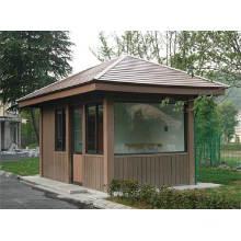 Maison WPC haute qualité imperméable à l'eau