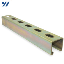 Factory Supply Cold Bending Ceiling C Channel Steel Bar