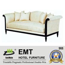 High Quality Comfortable Sofa Set Wooden Sofa for Hotel (EMT-SF29)