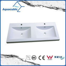 High Quality Double Lever White Polymarble Top Acb1202A