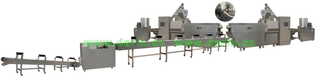pet snacks processing line