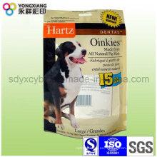 Stand up Ziplock Bolsa de alimentos para mascotas