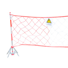 Construction equipment insulation fence Barreled purse seine Safety fence support