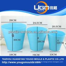 Molde plástico de la cesta de la inyección del molde de la cesta del plástico en taizhou zhejiang China
