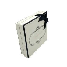 Boîte d'emballage carrée de cadeau de parfum rigide de fantaisie vide