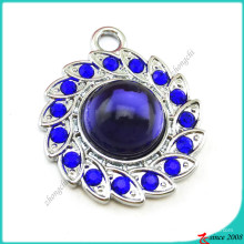 Королевский синий камень подвески Кулон для ювелирные изделия выводы (ПДВ)