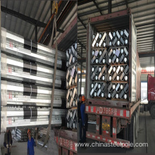 12m galvanized  Octagonal Electrical Steel Poles