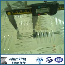 Diamond Checkered alumínio / folha de alumínio / placa / painel para piso antiderrapante