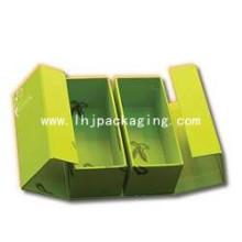 Hochwertige Schuhverpackung Geschenkbox mit Folienprägung